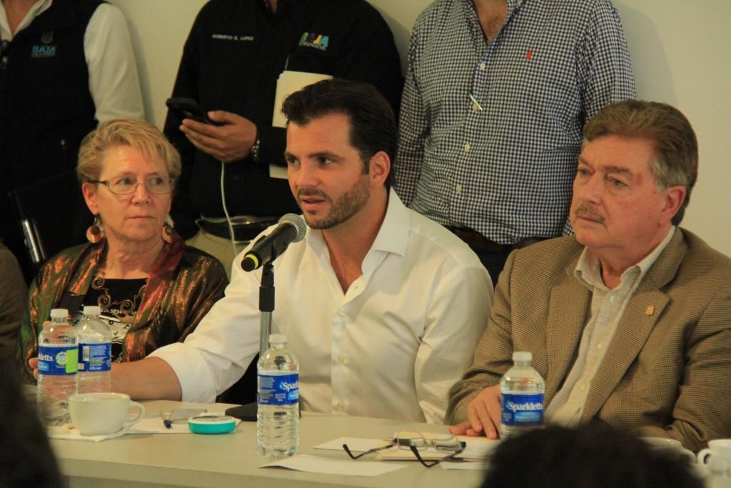 Dr. Barbara Taylor, Raphael Pacchiano Alaman, and Francisco Vega de Lamadrid