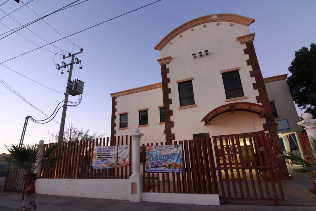 Casa de la Cultura en San Felipe, Mexico